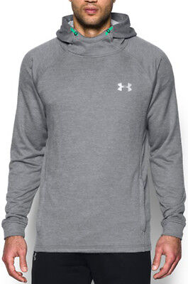 Under Armour Tech Terry Fitted PO Mens Hoody - Grey