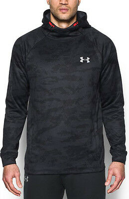 Under Armour Tech Terry Fitted PO Mens Hoody - Black