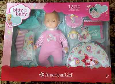 American Girl Bitty Baby With A 12 Piece Set