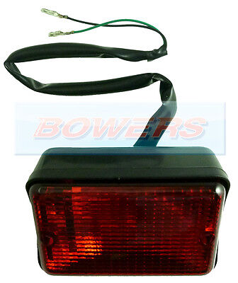 Land Rover Defender 90/110 Rectangular Rear Fog Lamp Light Prc7254 Lep England