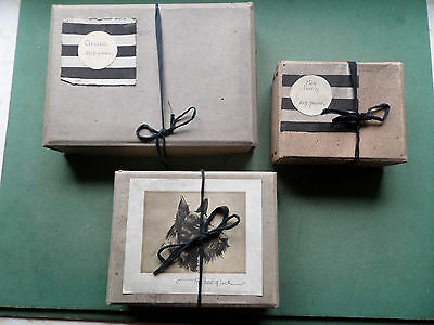 """VINTAGE """"MRS APPERLY"""" HAND CUT WOODEN JIGSAW PUZZLE COLLECTION x 3"""