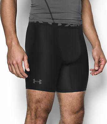 Under Armour HeatGear 2.0 Comp Mens Running Shorts - Black