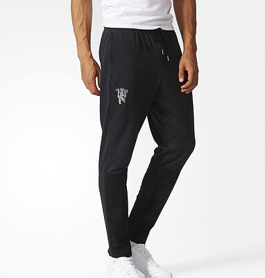adidas Manchester United Mens Training Pants - Black