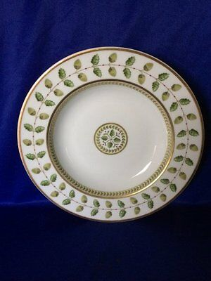 "Beautiful Limoges Bernardaud 'Constance' 8"" Rimmed Soup Bowl"