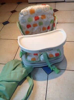 Mamas And Papas Travel Highchair Collapsible Booster