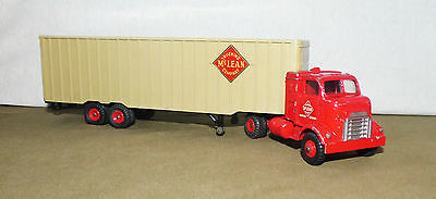 DINKY 948 McLEAN 'TRUCKING'  ARTICULATED TRUCK. 1961 - 66.  290mm LONG.