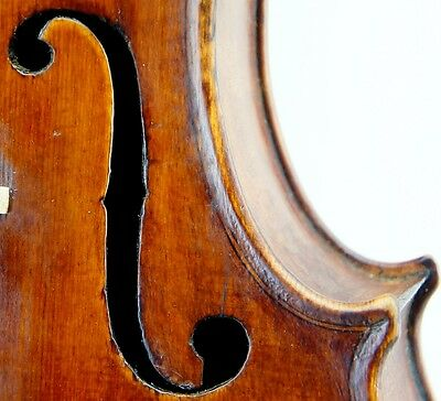 Excellent c.1870 Handmade Antique Mittenwald Violin--Ready-to-Play, No Reserve!