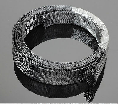Expandable Retardant nylon Braided sleeving Harness Sheathing for wire 5 Meter