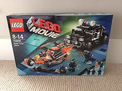 LEGO 70808 - The Movie, Super Cycle Chase. New & Sealed Retired Set