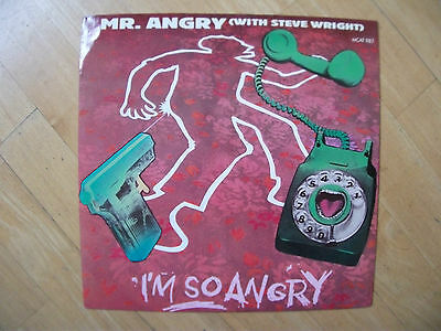 MCA Nr.MCAT987 - Mr. Angry / Steve Wright - I'm So Angry 12""