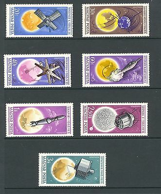 Hungary 1965 SG 2142-8 Space Research MNH