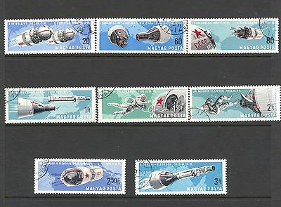 Hungary 1966 SG 2247-54 Twin Space Flights CTO