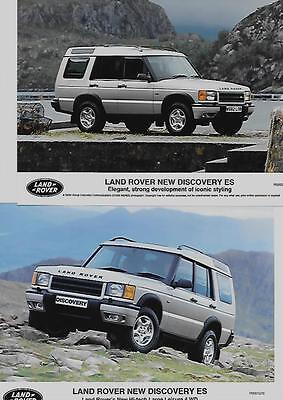 Land Rover 'new' Discovery Es Original Press Photo 'brochure Connected' Two Of