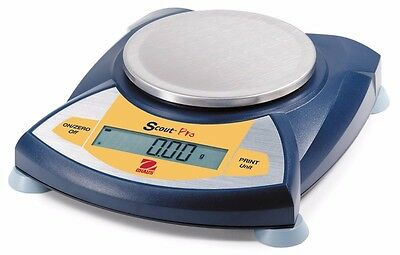OHAUS Scout Pro Portable Electronic Balance, SPE202, 200 g, Readability 0.01 g