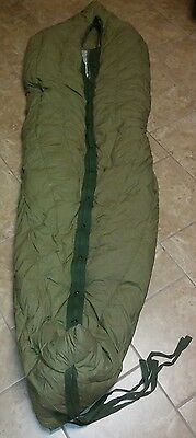 Authentic VNTG US Military M-1949 TYPE 1 Down Filled Mountain Sleeping Bag Nice!