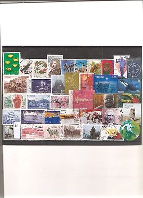 timbres norvege 61 timbres