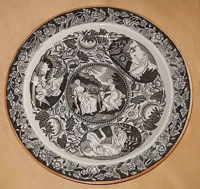 Death Of Nelson Commemorative Pearlware Plate Shorthose 1805