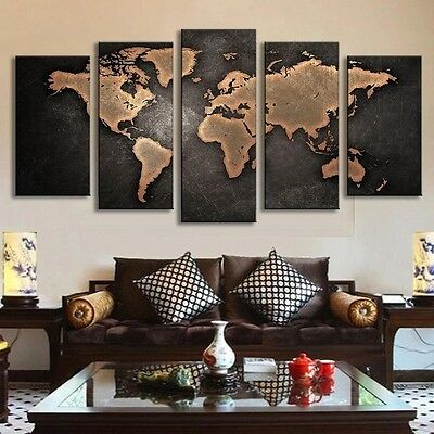 Huge Modern Large Canvas Art Oil Painting Picture Print No Frame Home Wall Decor