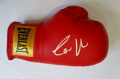Conor McGregor signed boxing glove MMA UFC Proof