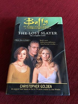 Buffy the vampire slayer book. The Lost Slayer Complete Series 1-4