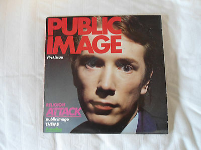 Public Image. PIL First issue. Religion Attack  LP 1978