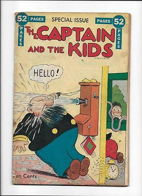 The Captain & The Kids Special Issue  [1948 Gd-Vg]  Telephone Cover!