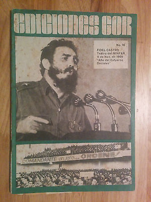 Fidel Castro Speech To Soldiers & Officers Of The Armed Forces Cuba Sugar Cane