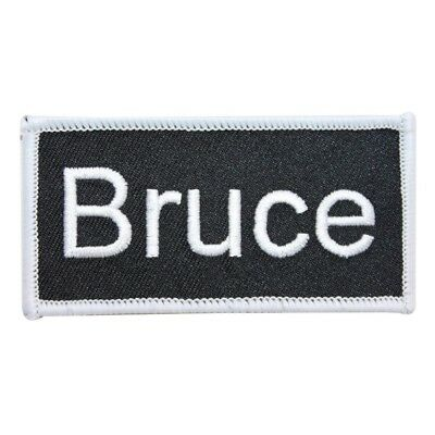 eric name tag patch uniform id work shirt badge embroidered iron on