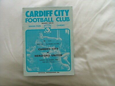 Cardiff v Hereford ( LC) 82-83