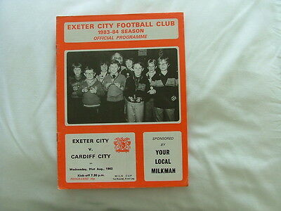 Exeter  v Cardiff  ( LC)  83-84