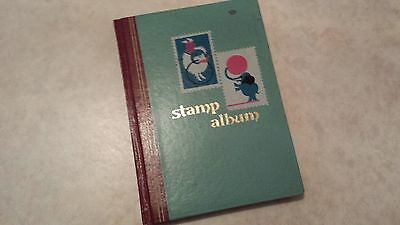 STAMP ALBUM Space exploration huge lot 138 stamps Apollo collection vgc