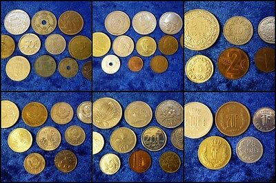 Coin Lots By Country - Huge Variety - Massive Multi Listing