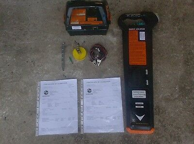 RADIODETECTION MK2 CABLE AVOIDANCE TOOL/CAT DETECTOR SCANNER & GENNY (Both Cal)