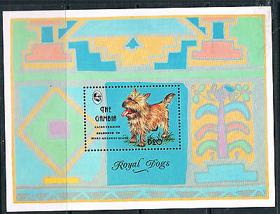 Gambia 1993 Royal Dogs MS SG 1619a MNH