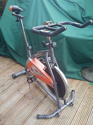Body Sculpture Pro Racing Fitness Exercise Spin Bike
