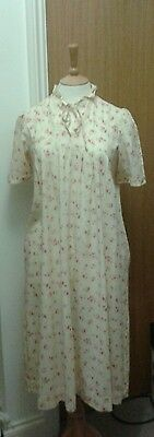 Vintage Laura Ashley Nightdress * 1980S * Size 12 * Very Nice Condition