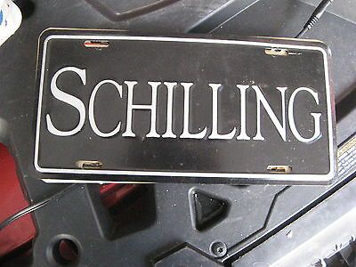 Schilling  Booster Front License Plate