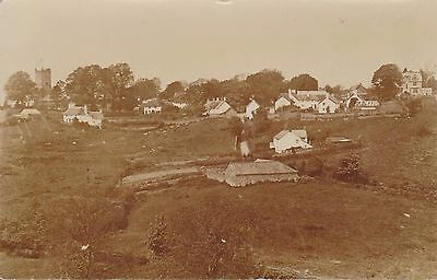 North Bovey Village Devon RP Postcard Posted From North Bovey in 1923