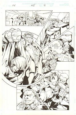 Fantastic Four #5 p.4 - The Thing - 1998 art by Salvador Larroca?