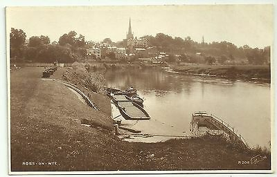 Herefordshire postcard Ross on Wye