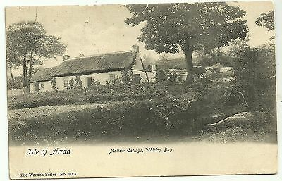 Isle of Arran postcard Mallow Cottage Whiting Bay
