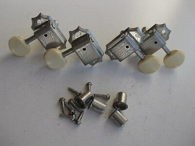 Vintage 60's Gibson TG-25  Guitar Tuners Set by Kluson for Your Project / Repair