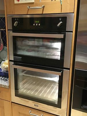 Stoves Double Gas Oven SGB900PS Stainless Steel