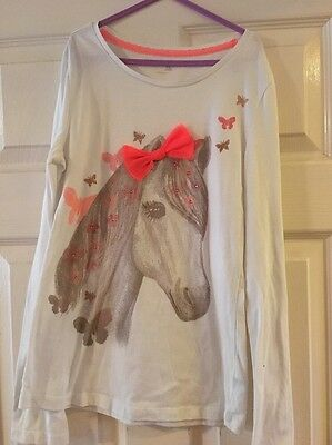 Gap horse bow top 12 years