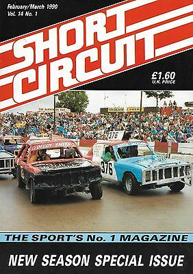 Short Circuit Magazine. Stock Cars. Hot Rods. Bangers. February / March 1990