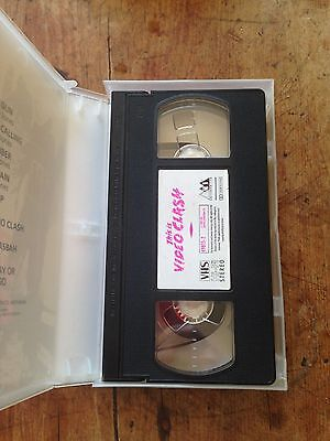 The Clash - This Is Video Clash Vhs 1985 Cbs