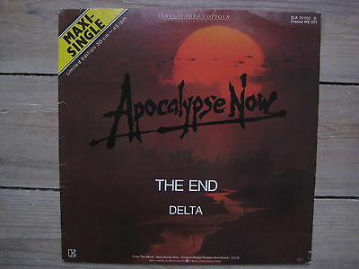 """THE DOORS 'THE END' - APOCALYPSE NOW Movie version. Rare Limited Edition 12"""""""
