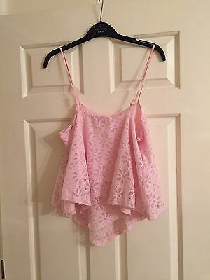 Mattalan Girls candy couture Top Age 15 Pink