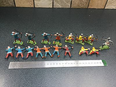 Very old Britain Britains soldiers knights in Armour