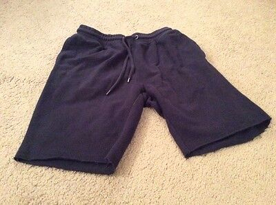 mens new look navy cotton shorts size XS